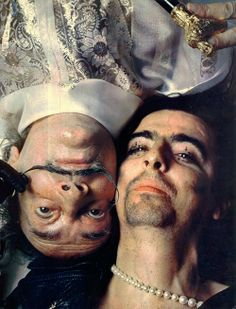 Salvador Dali and Alice Cooper