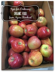 Tips for Ordering from Azure Standard, how to buy real, healthy, organic food on a budget