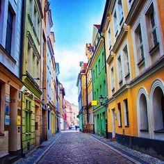Streets of Poznan, Poland