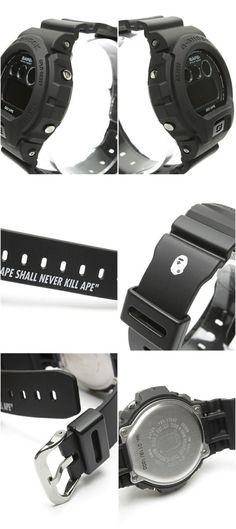 BAPE x Casio G Shock DW 6900