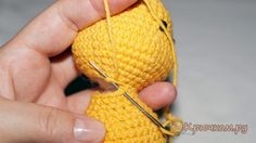Как сшивать детали амигуруми