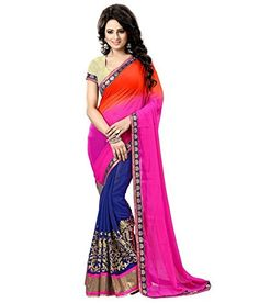 062b54d07a41a9 9 Best latest saree collection by designer images in 2016   Chiffon ...