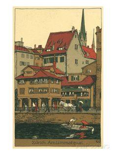 Zurich Am Limmafquai