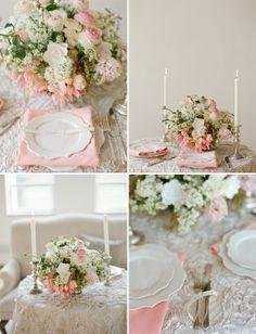blush tablescape