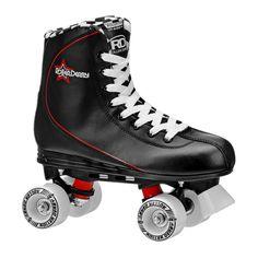 Roller Derby Men's Roller Star Quad Skates - Black 10, Black Red