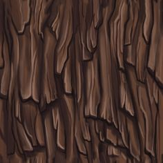 Bark - Handpainted textures