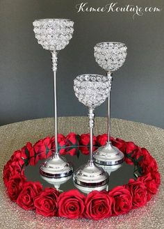 Ideas for diy wedding cake stand round center pieces Diy Wedding Cake, Wedding Cake Stands, Red Wedding, Wedding Centerpieces, Wedding Table, Wedding Decorations, Bling Wedding Cakes, Decoration Table, Table Centerpieces