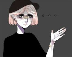 Find images and videos about girl, art and icon on We Heart It - the app to get lost in what you love. Aesthetic Art, Aesthetic Anime, Pretty Art, Cute Art, Art Sketches, Art Drawings, Anime Triste, Vent Art, Sad Art