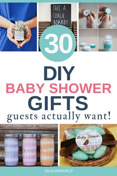 30 DIY Baby Shower Favors Guests Will Actually Want These baby shower favors are going to be a hit! Surprise baby shower guests with southing they'll actually want. Baby Shower Cakes, Baby Shower Parties, Baby Shower Themes, Baby Boy Shower, Baby Shower Decorations, Shower Ideas, Baby Showers, Shower Party, Diaper Shower