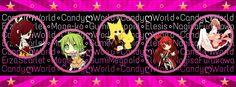 """Portada para la página de Facebook """"Candy World"""""""