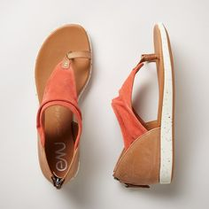 "YARA SANDALS -- Comfort gets hip in these athletic-infused sandals with sophisticated suede and sporty, gum rubber soles from EMU Australia®. Imported. Whole and half sizes 6 to 9, 10. 1/2"" heel."