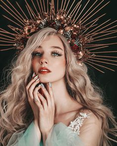 Professional photographer - Fine Art and Portrait - Jovana Rikalo Aesthetic People, Aesthetic Girl, Face Aesthetic, Queen Aesthetic, Art Reference Poses, Photo Reference, Hair Reference, Reference Photos For Artists, Fantasy Photography