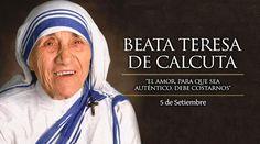 5 Septiembre. Beata Teresa de Calcuta, patrona de las jornadas mundiales de la juventud.