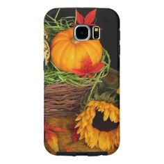Fall Harvest Sunflowers Samsung Galaxy S6 Cases