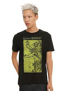 Game Of Thrones Lannister Banner T-Shirt,