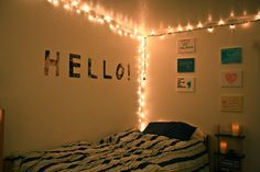 dorm string lights