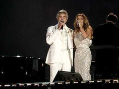 Celine Dion and Andrea Bocelli live in Central Park (The Prayer).... Just an awesome Duet.... Certainly one of my Favourites... Cheers... Big Al Connolly