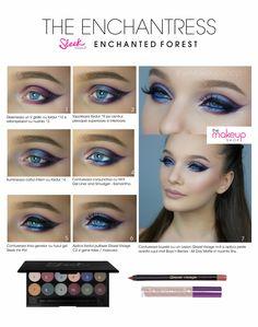 Paleta Farduri Sleek Enchanted Forest - Makeup Shop