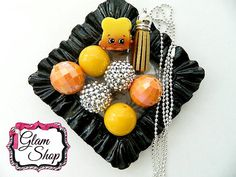 Shopkins Season 4 BREAD CRUMBS Bubblegum Bead by GlamShopBeads