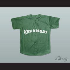 e5d147d2f19 Raymond  Ray Ray  Bennet 5 Kekambas Baseball Jersey Hardball Dark Green.  STITCH SEWN