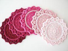 Ravelry: Set of Ombre Coasters pattern by Marinke Slump