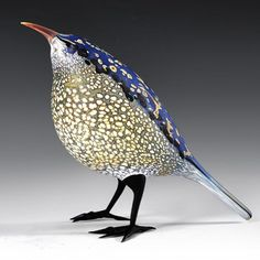 Art Glass Bird - Shane Fero