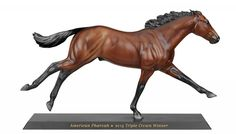 American Pharoah Breyer horse - to be released sometime between October and Christmas.