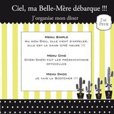 menu, soirée cocktail, soirée cocktail, menu chic, enterrement vie de jeune fille, EVJF, free download, printable, recette, cuisine, DIY, décoration de table