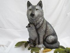 Mother Wolf and her pup