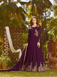 RAMA D.NO.-20027 RATE : 2425 - RAMA FASHION RAAZI VOL 8  RAMA 20025-20032 SERIES  GEORGETTE EMBROIDERED TRADITIONAL OCCASIONALLY FASHION PARTY WEDDING WEAR INDIAN WOMEN FASHION ANARKALI DRESS AT WHOLESALE PRICE AT DSTYLE ICON FASHION CONTACT: +917698955723 - DStyle Icon Fashion