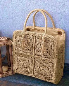 Cute Crochet, Crochet Motif, Knit Basket, Handmade Handbags, Crochet Handbags, Knitted Bags, Crochet Accessories, Bag Making, Purses And Bags