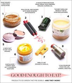 @Byrdie Beauty - Food-Grade Ingredients!