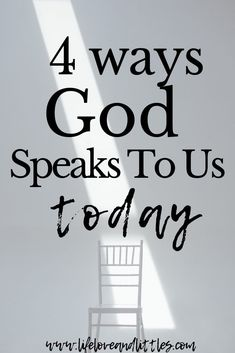 Is God still speaking to his people even though we aren't in bible times? Read how God talks to us today! Spiritual Warfare, Spiritual Growth, Spiritual Practices, Christian Living, Christian Life, Christian Women, Bible Study Plans, Prayer Warrior, Christian Encouragement