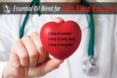Essential Oil Blend For High Blood Pressure by Organic Aromas