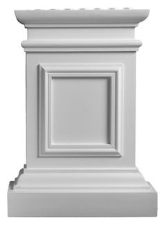 - Cherokee Pilaster Plinth - Corbel Place - June 02 2019 at Antique Furniture, Home Furniture, Bedroom Furniture, Columns Decor, Stair Brackets, Cornice Design, Fachada Colonial, Pillar Design, Roman Columns