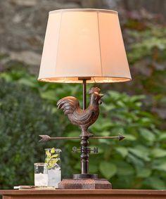 Another great find on #zulily! Weather Vane Lamp #zulilyfinds