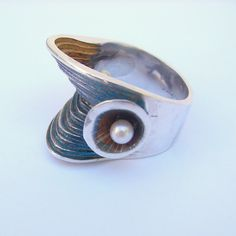Seascape Ring by aranajewelry on Etsy, $395.00