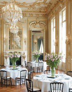 Grand Salon. The scale of the room is underpins its success.