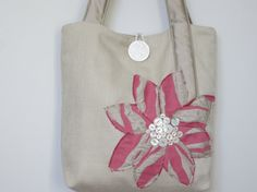 Hey, I found this really awesome Etsy listing at https://www.etsy.com/listing/189915929/pink-and-champagne-brides-tote-bag-pink