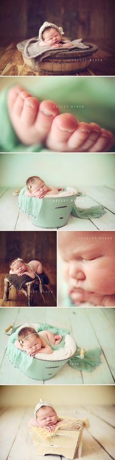 Kelley Ryden newborn photography