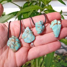 Quartz Necklace, Crystal Necklace, Turquoise Pendant, Turquoise Bracelet, Zodiac Jewelry, Protection Necklace, Healing Crystal Jewelry, Hippie Jewelry, Stainless Steel Chain