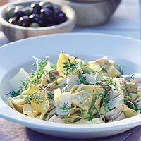 Recept - Pastasalade met kip en venkel - Allerhande