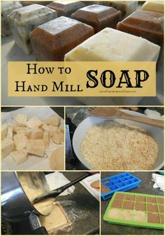 Soap making at home is not a hard process if you know how to repurpose. Simply learn the process for how to make hand milled soap at home.