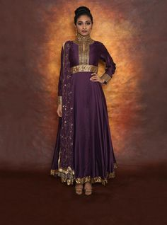 Anarkali Suits Designs by Rohit Bahl | Designers Anarkali Suits by Rohit Bal