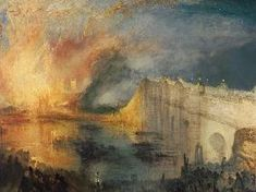 William Turner - The Burning of the Houses of Parliament #1