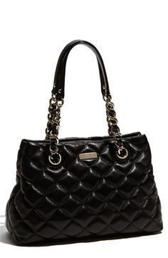 kate spade new york 'gold coast - maryanne small' quilted leather shopper available at #Nordstrom