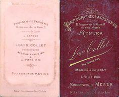 Louis COLLET (1 et 2) successeur de Mevius - Rennes
