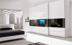 Top tips for bedroom High-tech style in stylish home