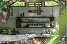 Lumbung (Bungalow) AC / Hot Water @ Villa Nangka - 借りられるバンガロー - Gili Air, Lombok, West Nusa Tenggara Barat, インドネシア