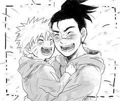 Image in Naruto collection by Dodomi on We Heart It Naruto Uzumaki Shippuden, Naruto Kakashi, Boruto, Naruto Teams, Naruto Anime, Naruto Cute, Manga Anime, Sasunaru, Hinata